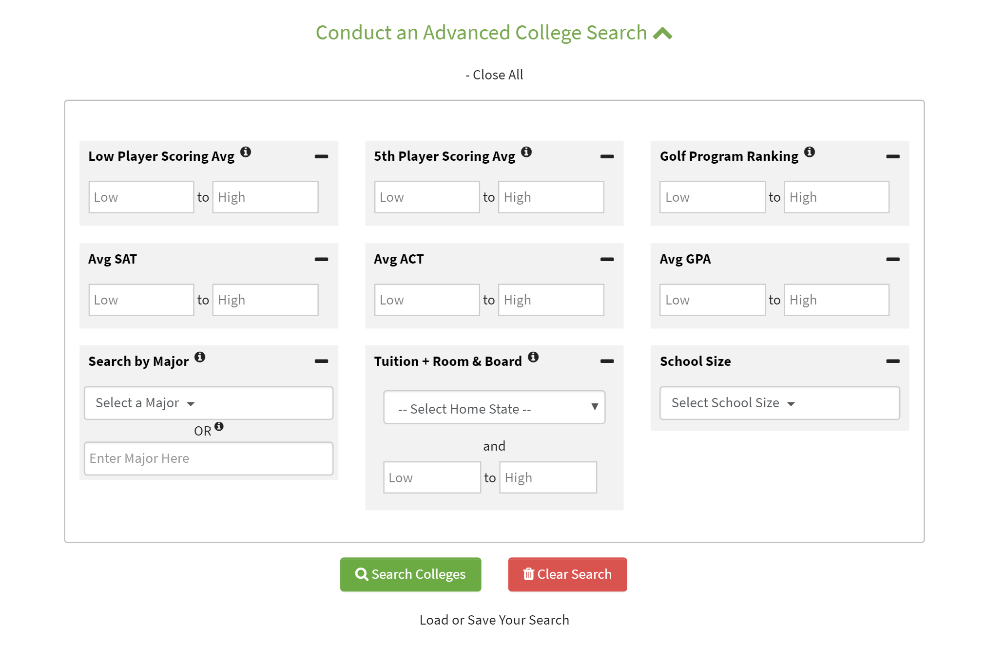 The JGH Advanced College Finder: Your Window to College Golf2 min read